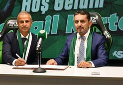 Son dakika   Konyasporda İsmail Kartal imzaladı Serdar Kesimal...