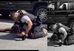 ABDde bir siyahiyi yumruklayan polis kovuldu