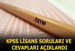 2020 KPSS soruları ve cevapları açıklandı Genel kültür, genel yetenek ve alan bilgisi  KPSS lisans temel soru kitapçığı ve cevapları...