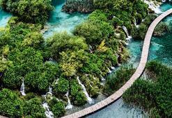 Balkanlarda bir yeryüzü cenneti Plitvice Gölleri