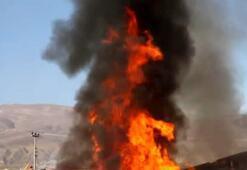 Kereste fabrikasında büyük yangın Tonlarcası kül oldu
