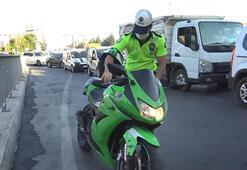 Avcılarda abart egzozlu motosiklet denetimi