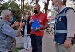 Erzincan'da yasağa uymayan 65 yaş ve üstü evlerine gönderildi