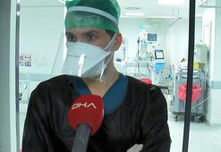 Korona ile mücadele eden doktor, 7 aydır ailesini görmüyor