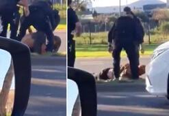 Polisin kafasını tekmelediği adam yoğun bakımda