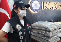 İstanbulda kilolarca uyuşturucunun bulunduğu operasyonlar kamerada