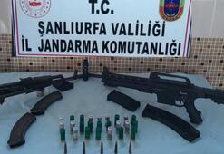 Şanlıurfa'da silah kaçakçılığı operasyonuna 3 tutuklama