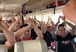 Çin'in Wuhan şehrinde hayat da futbol da normale döndü