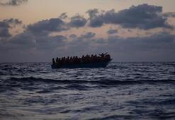Akdenizde göçmen teknesi battı