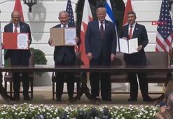 İsrail ile BAE ve Bahreyn arasındaki normalleşme anlaşmaları Beyaz Sarayda imzalandı