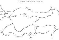 Bölgelerin Dilsiz Haritaları: Marmara, Ege, İç & Dış, Doğu Anadolu, Akdeniz, Karadeniz, Güneydoğu