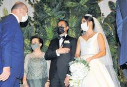 Düğünde buluştular