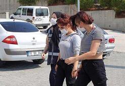 Otel odasındaki fuhuş tuzağına 5 tutuklama