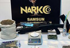 Samsunda özel harekat destekli uyuşturucu operasyonu