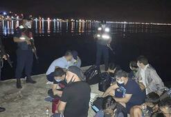 Sürat teknesiyle Yunanistana kaçmaya çalışan FETÖ şüphelileri yakalandı