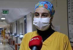 Koronavirüsü yenen hemşire konuştu Biz tek başımıza savaşamayız