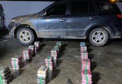 Valinin arabasında 79 paket uyuşturucu çıktı