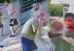 Şarkıcı Halil Sezainin gözaltına alındığı kavga kamerada