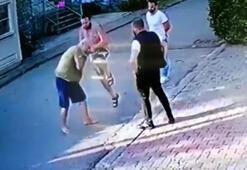 Son dakika: Halil Sezai 67 yaşındaki adamı dövdü Kavga anı güvenlik kamerasında...