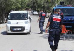 Köye giriş ve çıkışlar durduruldu Jandarma 24 saat nöbette
