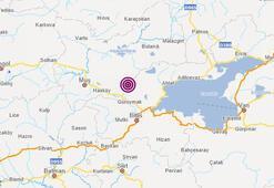 Son dakika: Muşta deprem mi oldu AFAD, Kandilli Rasathanesi son depremler listesi...
