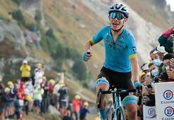 Fransa Bisiklet Turunun 17. etabını Miguel Angel Lopez kazandı