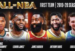 NBAde yılın 5leri belirlendi