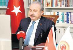 Şentop, Özbekistanlı mevkidaşıyla görüştü
