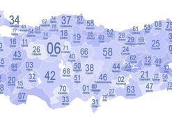 Türkiye İl Plakaları Haritası: Şehirlerin İl Plaka Kodları Nelerdir Numaralar İle İl Plakaları Listesi