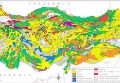 Türkiye Jeoloji Haritası: Neojen, Paleojen, Mesozoyik Ve Asit İntrüzifler Nedir