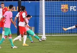 Messiden hazırlık maçında muhteşem gol