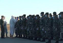 Kafkas 2020 tatbikatı; Çin ve Belarus birlikleri Rusyaya ulaştı