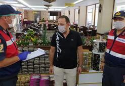 Bolu'da korona virüs tedbirlerine uymayanlara ceza kesildi