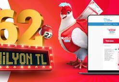 Çılgın Sayısal Loto çekiliş sonuçları açıklandı Milli Piyango Online üzerinden Çılgın Sayısal Loto bilet sorgulama
