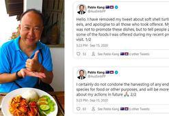 Büyükelçi nesli tükenmek üzere olan kaplumbağayı yediği için özür diledi