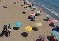 İzmirde plajların güvenliği atlı jandarmaya emanet