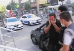 Şişlide kadını otomobilden atan şüpheli yakalandı