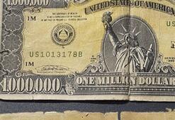 Kütahyada 1 milyon dolarlık banknot ele geçirildi