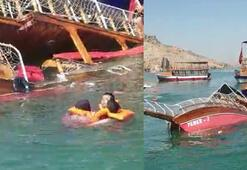 Tur teknesinde can pazarı 26 yolcu vardı