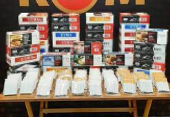 Çanakkalede kaçak 15 bin sarma sigara ele geçirildi