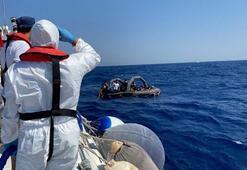 Muğlada Türk kara sularına itilen yabancı uyruklu 54 kişi kurtarıldı