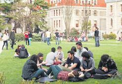 Gözde üniversiteler de dolmadı
