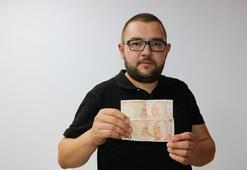 Hatalı basılan banknota 50 bin TL istiyor