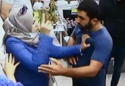 İstanbulda güpegündüz gasp girişimi kamerada