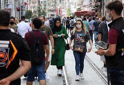 Taksimde drone destekli koronavirüs denetimi