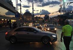 Beyoğlu ve Kadıköyde polis denetimi