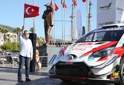 Bakan Kasapoğlu Dünya Ralli Şampiyonasının startını verdi