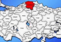 Kastamonu Haritası: Kastamonu İlçeleri Nelerdir Kastamonu İlinin Nüfusu Kaçtır, Kaç İlçesi Vardır