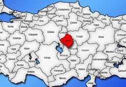 Kırşehir Haritası: Kırşehir İlçeleri Nelerdir Kırşehir İlinin Nüfusu Kaçtır, Kaç İlçesi Vardır
