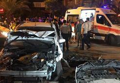 Adanada zincirleme kaza 6 yaralı var